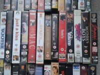 Job lot of mixed genres VHS Video films 79 in total