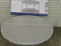 Folding Outwell Federicton lightweight aluminium frame camping table NEW, BOXED, adjustable legs.