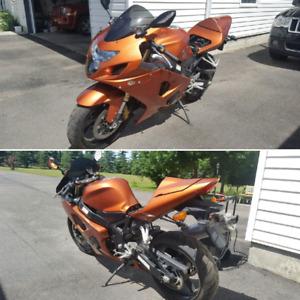 2005 GSX-R 750 Burnt Orange $5900 - 7500km