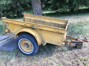 Willys Jeep Military Ordinance Trailer US Army
