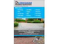 Block Paving, Driveways and Groundwork Services Covering the North East of England