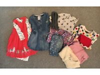 Girls clothing bundle age 1.5-2