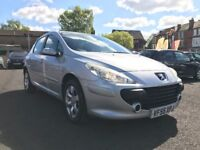 2006 PEUGEOT 307 1.6 HDI *** 6 MONTHS MOT + FULL SERVICE HISTORY + DIESEL + ONLY 95000 MILES**