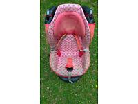 MaxiCosi Car seat - 9 months to 4 years