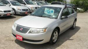 2006 Saturn Ion Sedan .2 Midlevel