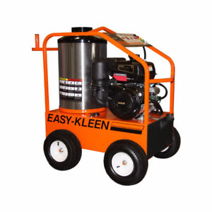 Commercial Gas Hot Water Pressure Washer