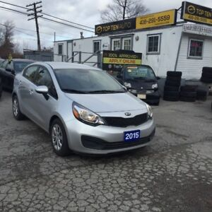 2015 Kia Rio ACCIDENTIDENT FREE ONE OWNER MINT IN/OUT