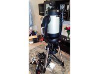Fantastic Celestron CPC Deluxe 1100 HD Goto Telescope in excellent condition.
