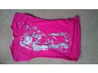 Girls top size 8/9 years