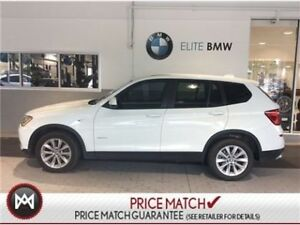 2016 BMW X3 AWD, LOW KMS, WHITE