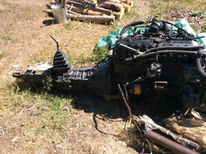 1989 jeep Cherokee trans/transfer case