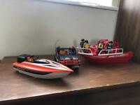 Playmobil boats