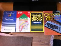 Four books on the Commodore 64