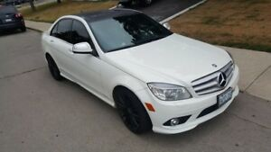 Fully loaded 2008 Mercedes Benz C 350 AMG Sport Pkg.
