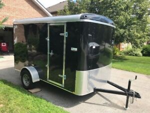 BRAND NEW 6' x 10'  ENCLOSED TRAILER -  2016 Mirage Xcel Series