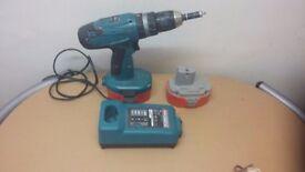 Makita 18v hammer drill