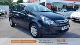 VAUXHALL CORSA S AC 2014 Petrol Manual in Black
