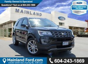2016 Ford Explorer Limited LOCAL, NO ACCIDENTS, LOW KM'S