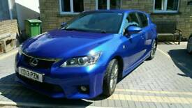 2013 lexus ct200h fsport