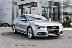 2016 Audi A5 2.0T Progressiv plus *Certified*
