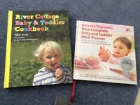 Baby and toddler cookery books
