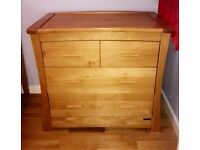 Baby Changing Drawer Unit