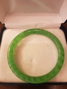 Slender Jade Bracelet