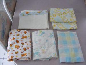draps contour,ete,hivers de bebe,couvertures,courte pointe