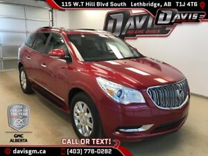 Used 2013 Buick Enclave-Premium,AWD,Heated/Cooled Leather, 7 Pas