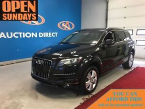 2014 Audi Q7 TDI DIESEL! 7 PASS! NAVI! FINANCE NOW!