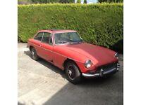 MGB GT 1968 restoration project