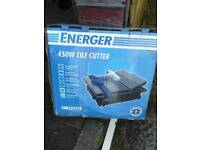 Used tile. Cutter