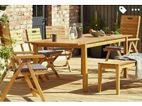 Denia extendable table