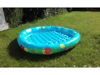 My first paddling pool