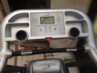 Barley used X-large gym treadmill