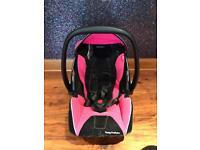 Recaro Young Profi Plus infant Car Seat in Pink