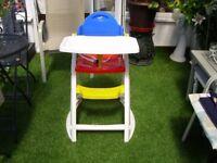 K & D Design Sit ' N Gro High Chair