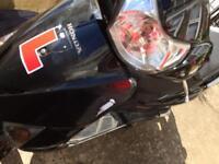 Honda lead Broken