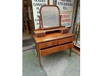 Lovely Vintage Mirrored Dressing Table