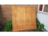 6ftx6ft fence panel and post