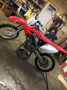 MINT 2007 CRF250R trade for sled or quad, will add cash