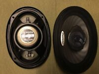 "PIONEER CAR SPEAKERS 6x9"" x2"