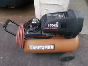 Craftsman 5.5HP 20 Gallon Air Compressor