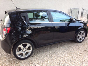 2012 Chevy Sonic LT hatchback in great condition