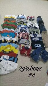 Boys 18 & 24 month clothes OVER 45 PIECES!