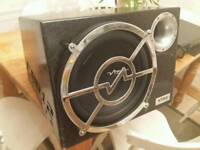 """Vibe 12"""" sub subwoofer with amp"""