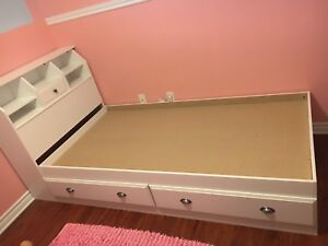 Twin Kids bed with storage