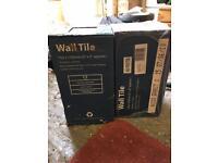 BLACK GRANITE EFFECT WALL TILES