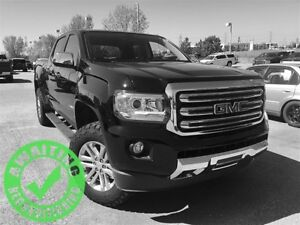 2015 GMC Canyon SLT| Heat Leath| Nav| Cust Susp/Tire| Rem Strt|