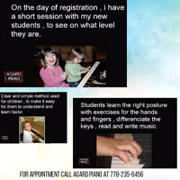 Piano lessons special $10